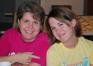My sister Robin and her daughter Kelly