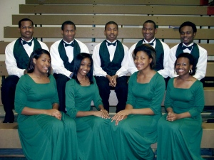 Part of my Honor Choir at LeFlore