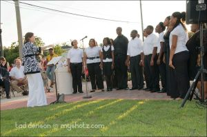 LeFlore Choir Performance at the Dedication of Unity Point Park in Mobile